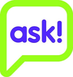 the word ASK